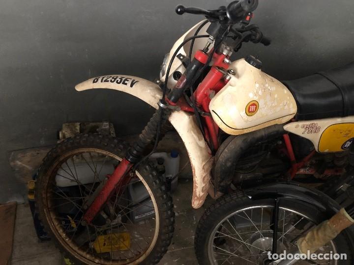 Motos: Moto Montesa Enduro 75 ( Se vende la Moto sillin azul). - Foto 8 - 196038648