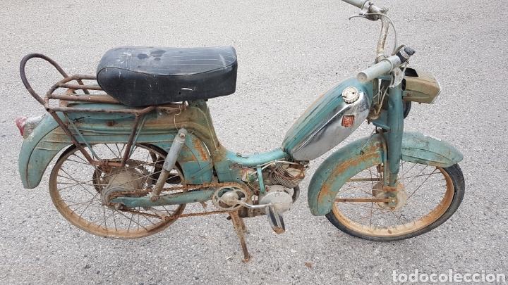ANTIGUO CICLOMOTOR PEUGEOT FUNCIONA (Coches y Motocicletas - Motocicletas Clásicas (a partir 1.940))