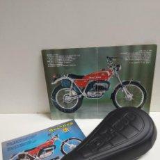 Motos: BULTACO SHERPA 250 Y 350 ASIENTO NUEVO MONOPLAZA . Lote 186028980