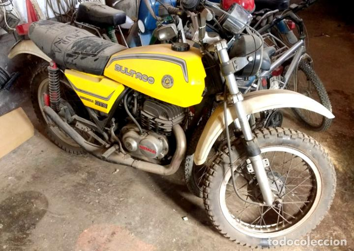BULTACO METRALLA GTS 250 CC.SIN DOCUMENTACIÓN.ARRANCA SIN PROBLEMA.1977.ORIGINAL (Coches y Motocicletas - Motocicletas Clásicas (a partir 1.940))