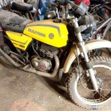 Motos: BULTACO METRALLA GTS 250 CC.SIN DOCUMENTACIÓN.ARRANCA SIN PROBLEMA.1977.ORIGINAL. Lote 187396657