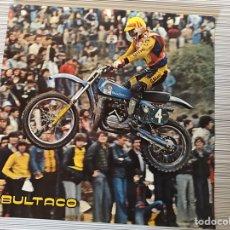 Motos: POSTER BULTACO ORIGINAL. Lote 188788502