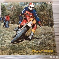 Motos: POSTER BULTACO ORIGINAL. Lote 188788741
