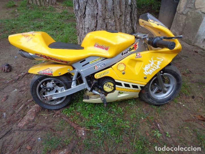 MINI MOTOCICLETA POCKET BIKE (Coches y Motocicletas - Motocicletas Clásicas (a partir 1.940))