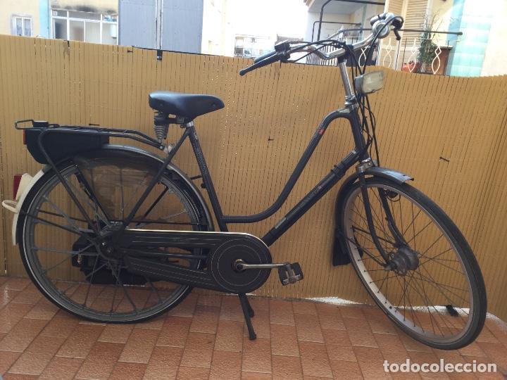 BICICLETA SPARTA -HOLANDESA-CON MOTOR (Coches y Motocicletas - Motocicletas Clásicas (a partir 1.940))