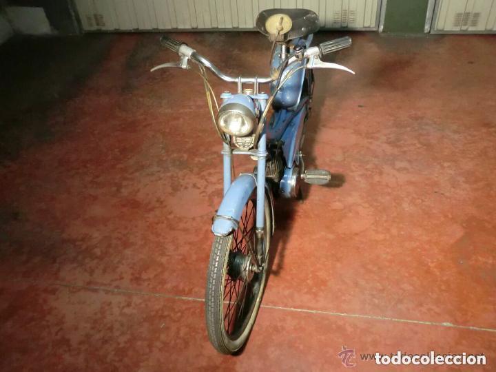 Motos: MOTOCICLETA CLÁSICA MOBYLETTE MOTOBECANE ,AÑOS 60,ENVÍO X CUENTA COMPRADOR ,NO TIENE DOCUMENTACIÓN - Foto 2 - 190602321