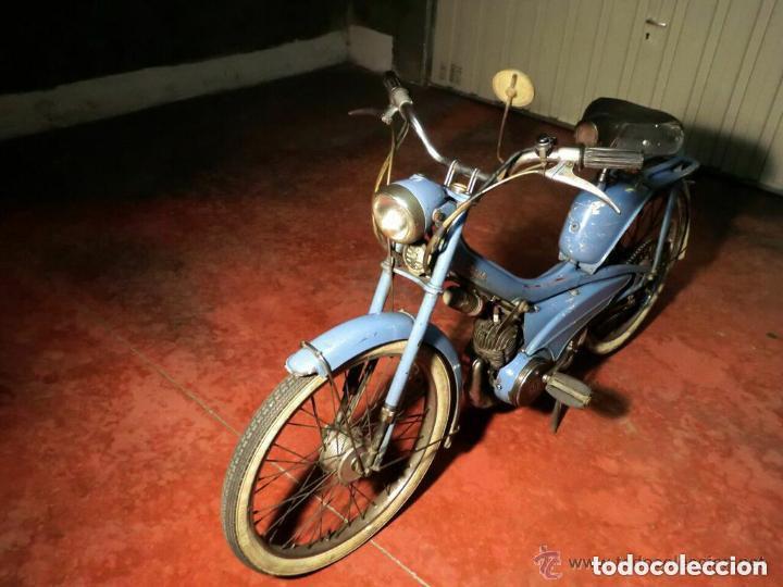 Motos: MOTOCICLETA CLÁSICA MOBYLETTE MOTOBECANE ,AÑOS 60,ENVÍO X CUENTA COMPRADOR ,NO TIENE DOCUMENTACIÓN - Foto 8 - 190602321
