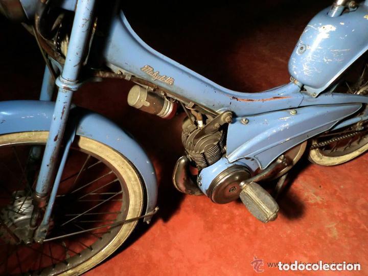 Motos: MOTOCICLETA CLÁSICA MOBYLETTE MOTOBECANE ,AÑOS 60,ENVÍO X CUENTA COMPRADOR ,NO TIENE DOCUMENTACIÓN - Foto 9 - 190602321