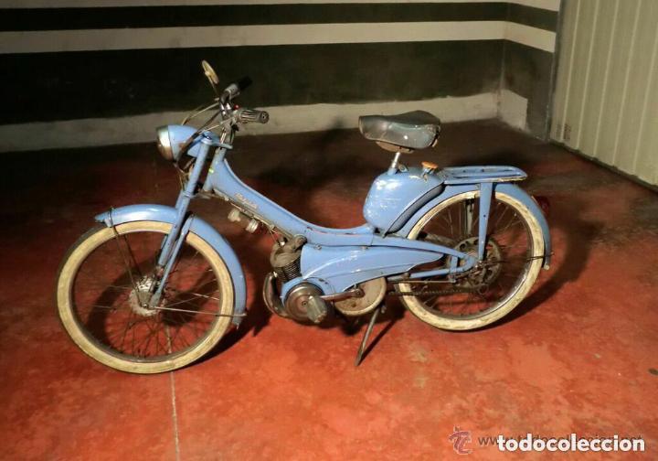 MOTOCICLETA CLÁSICA MOBYLETTE MOTOBECANE ,AÑOS 60,ENVÍO X CUENTA COMPRADOR ,NO TIENE DOCUMENTACIÓN (Coches y Motocicletas - Motocicletas Clásicas (a partir 1.940))