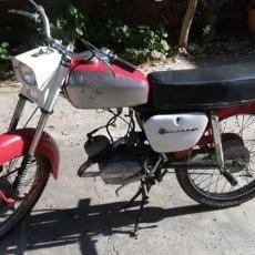 Motos: MOTO BÚLGARA BALKAN 50, 2 TIEMPOS, AÑO1971 MATRÍCULA PLEVEN DE LAS PRIMERAS, ESMALTADA. Lote 190626055