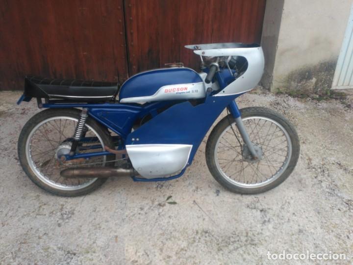 DUCSON S12 ESPECIAL (Coches y Motocicletas - Motocicletas Clásicas (a partir 1.940))