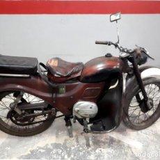 Motos: MOTO GUZZI HISPANIA 98 PARA RESTAURAR, CON DOCUMENTACIÓN Y MATRÍCULA. Lote 195234351