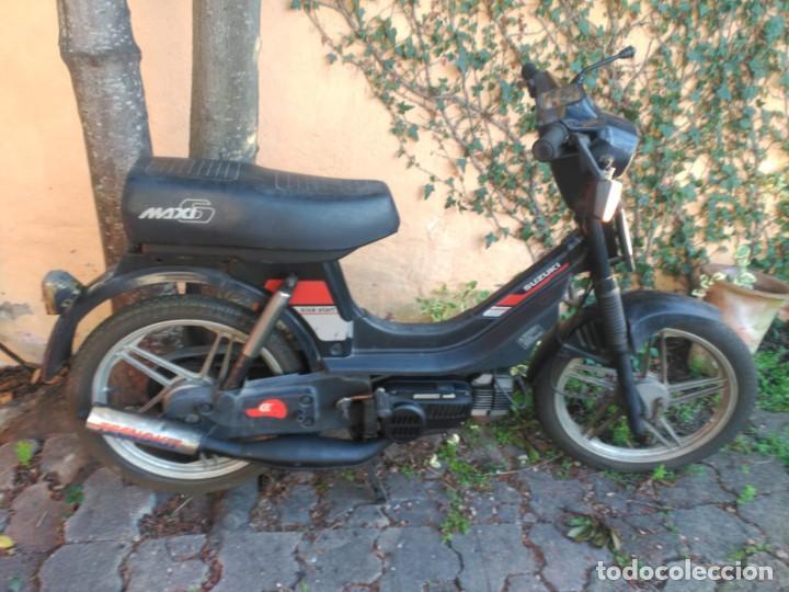 SUZUKI MAXI (Coches y Motocicletas - Motocicletas Clásicas (a partir 1.940))