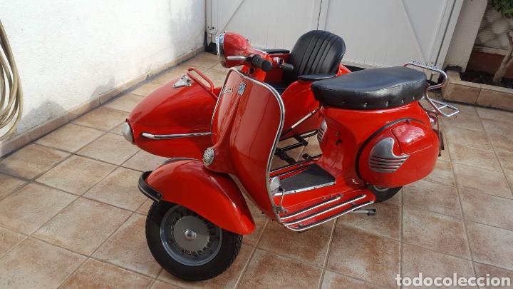 Vespa Con Sidecar 1961 Comprar Motocicletas Clásicas En Todocoleccion 195476575