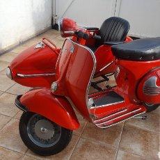 Motos: VESPA CON SIDECAR 1961. Lote 195476575