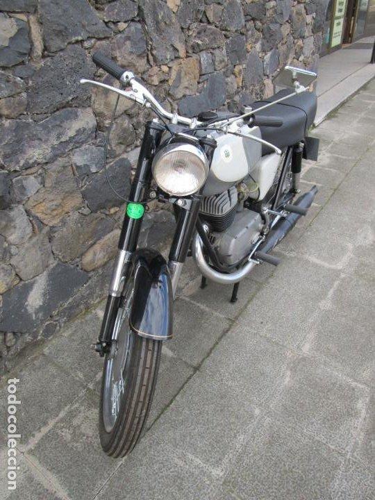 Motos: Moto Ossa 160 cc - Restaurada - con Documentación - Matricula LE-23137 - Año 1964 - Foto 2 - 196500477