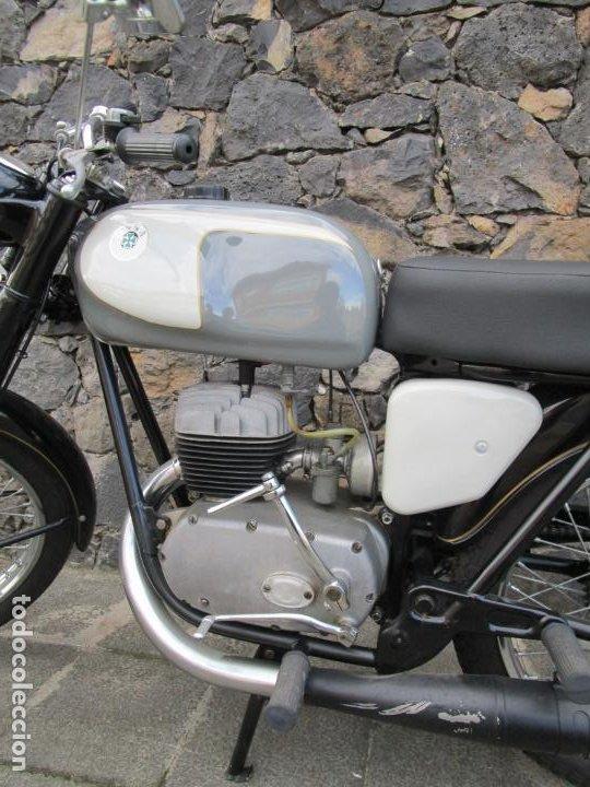 Motos: Moto Ossa 160 cc - Restaurada - con Documentación - Matricula LE-23137 - Año 1964 - Foto 9 - 196500477
