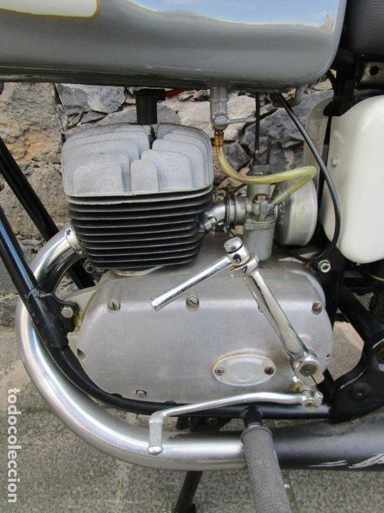 Motos: Moto Ossa 160 cc - Restaurada - con Documentación - Matricula LE-23137 - Año 1964 - Foto 10 - 196500477