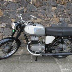 Motos: MOTO OSSA 160 CC - RESTAURADA - CON DOCUMENTACIÓN - MATRICULA LE-23137 - AÑO 1964. Lote 196500477