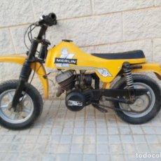 Motos: MOTO INFANTIL MARCA MERLIN DG 1. BULTACO. Lote 204363052