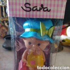 Motos: SARA DE TOYPA MUÑECA GOMA DE BORRAR Y SACAPUNTAS CAJA ORIGINAL AÑOS '70. Lote 205831093