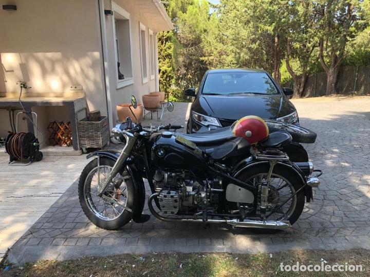 Motos: Moto Chang Jiang 750 - BMW R71 (750 CC) - Con sidecar - Modelo histórico II Guerra Mundial - 1951 - Foto 4 - 169115924