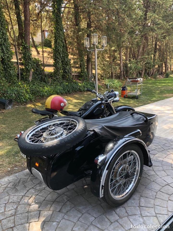 Motos: Moto Chang Jiang 750 - BMW R71 (750 CC) - Con sidecar - Modelo histórico II Guerra Mundial - 1951 - Foto 6 - 169115924