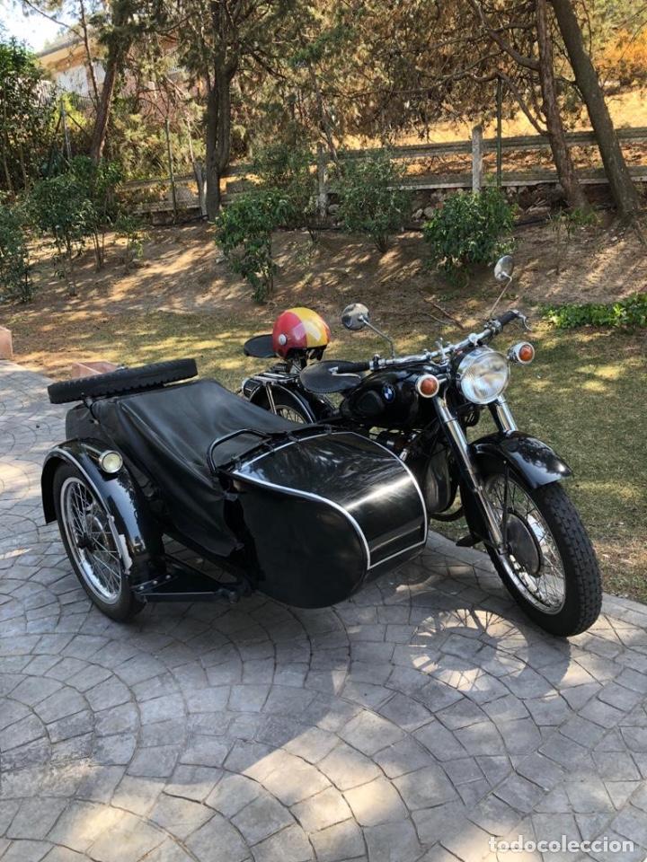 Motos: Moto Chang Jiang 750 - BMW R71 (750 CC) - Con sidecar - Modelo histórico II Guerra Mundial - 1951 - Foto 7 - 169115924