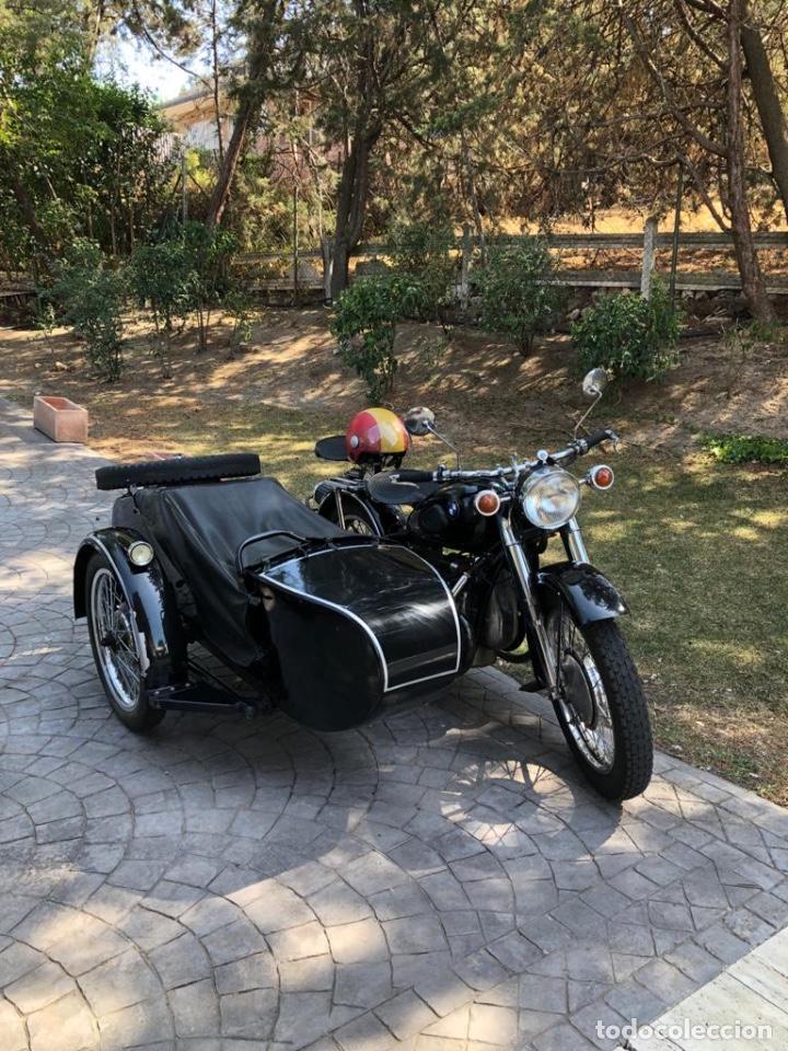 Motos: Moto Chang Jiang 750 - BMW R71 (750 CC) - Con sidecar - Modelo histórico II Guerra Mundial - 1951 - Foto 8 - 169115924