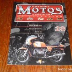 Motos: GRANDES MOTOS CLÁSICAS DE COLECCIÓN - FASCICULO Nº 28 BMW R90S (1976). Lote 215196185