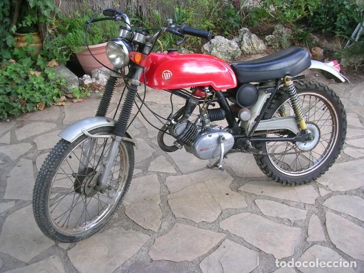 MONTESA SCORPION 50 C.C. ORIGINAL. FUNCIONANDO. 1972/76 (Coches y Motocicletas - Motocicletas Clásicas (a partir 1.940))