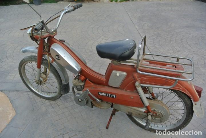 MOBYLETTE , G.A.C. MOTO (Coches y Motocicletas - Motocicletas Clásicas (a partir 1.940))