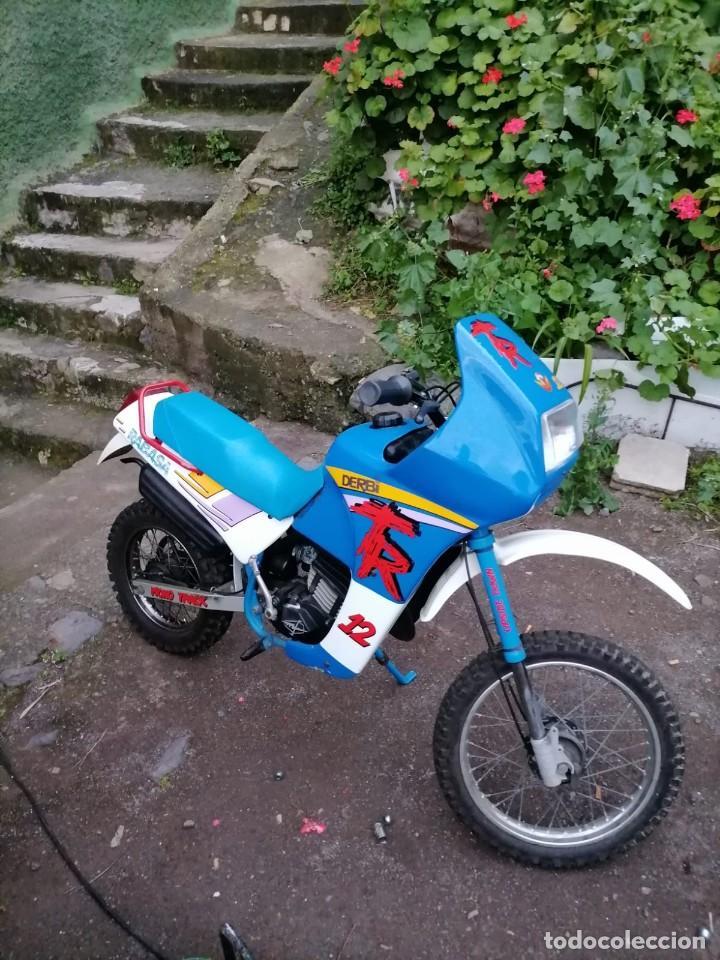 MOTOCICLETA DERBI RABASA PANTHER RT 12 (Coches y Motocicletas - Motocicletas Clásicas (a partir 1.940))