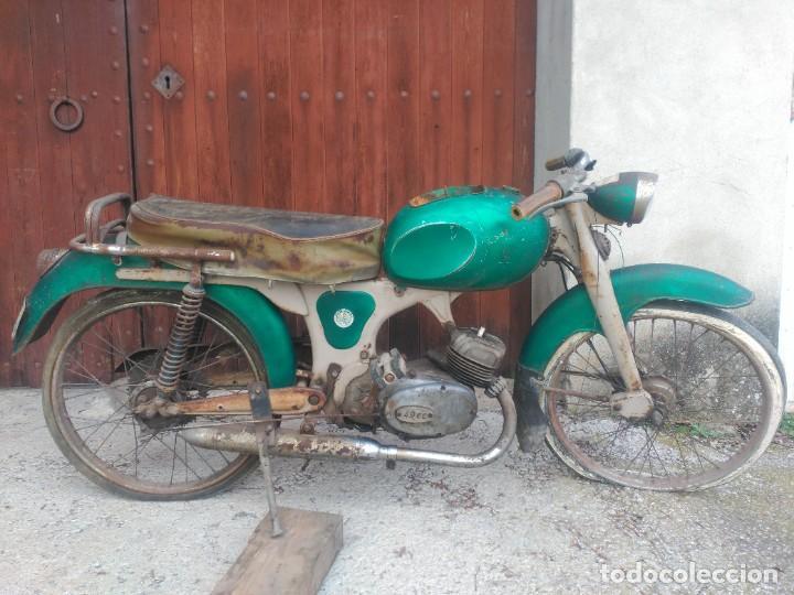 GIMSON ESBELTA (Coches y Motocicletas - Motocicletas Clásicas (a partir 1.940))