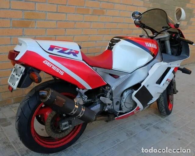 Motos: Moto clásica.1992.Yamaha FZR 1000.Fazer. - Foto 8 - 245559790