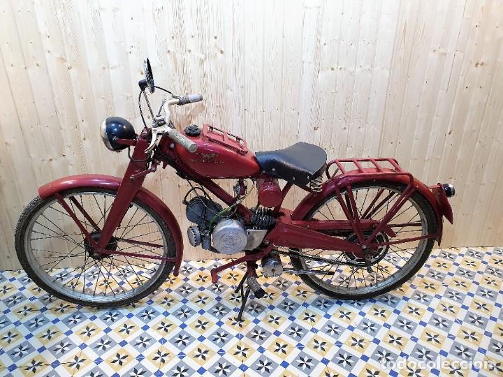 MOTO GUZZI HISPANIA DE 65CC (Coches y Motocicletas - Motocicletas Clásicas (a partir 1.940))