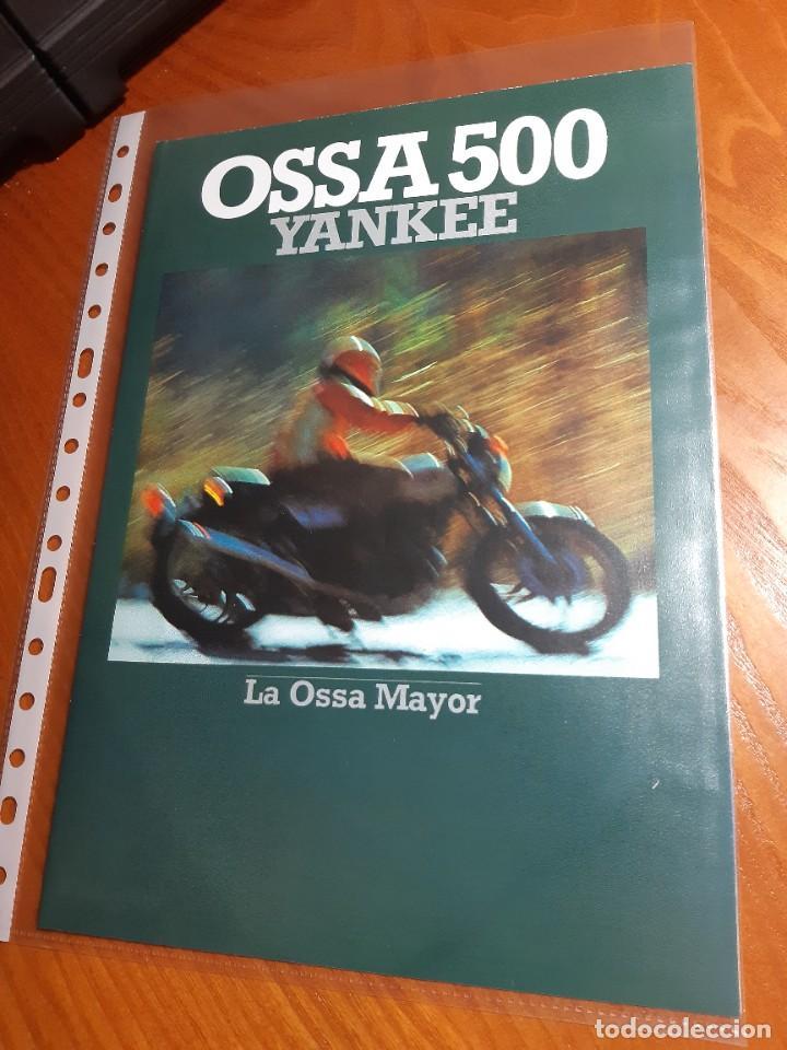 OSSA YANKEE CATALOGO ORIGINAL (Coches y Motocicletas - Motocicletas Clásicas (a partir 1.940))