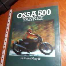 Motos: OSSA YANKEE CATALOGO ORIGINAL. Lote 278762178