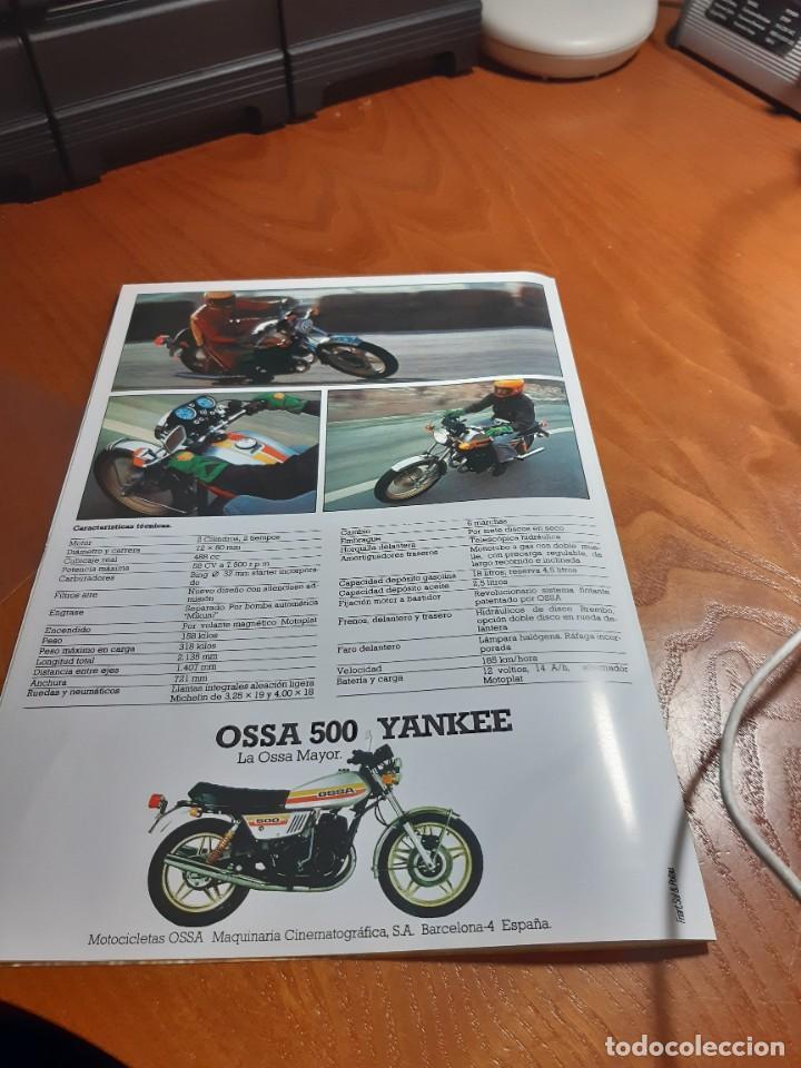 Motos: OSSA YANKEE CATALOGO ORIGINAL - Foto 4 - 257348185