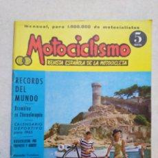 Motos: REVISTA MOTOCICLISMO NÚMERO 9 AÑO 1964 FASCICULO 266 ( MUY DIFÍCIL DE ENCONTRAR ). Lote 266021708
