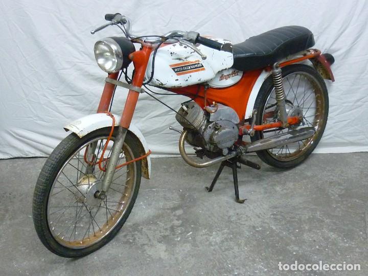 MOTO GUZZI DINGO, PARA PIEZAS, O RESTAURACIÓN. AÑO 1973 (Coches y Motocicletas - Motocicletas Clásicas (a partir 1.940))