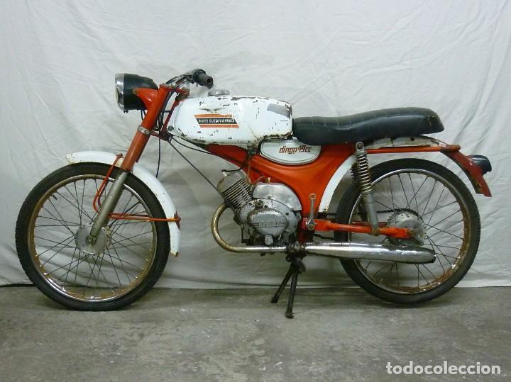 Motos: Moto Guzzi Dingo, Para piezas, o Restauración. Año 1973 - Foto 2 - 268800639