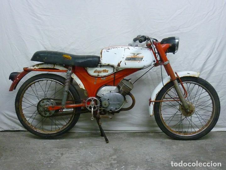 Motos: Moto Guzzi Dingo, Para piezas, o Restauración. Año 1973 - Foto 3 - 268800639