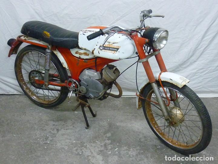 Motos: Moto Guzzi Dingo, Para piezas, o Restauración. Año 1973 - Foto 4 - 268800639