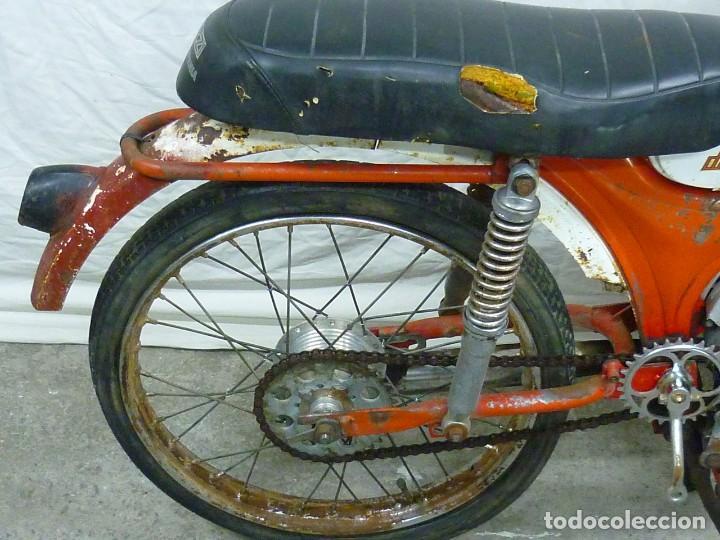 Motos: Moto Guzzi Dingo, Para piezas, o Restauración. Año 1973 - Foto 14 - 268800639