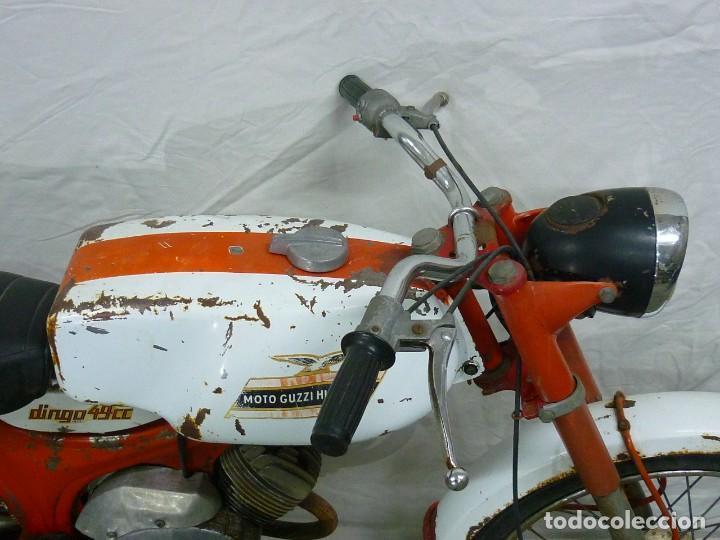 Motos: Moto Guzzi Dingo, Para piezas, o Restauración. Año 1973 - Foto 16 - 268800639