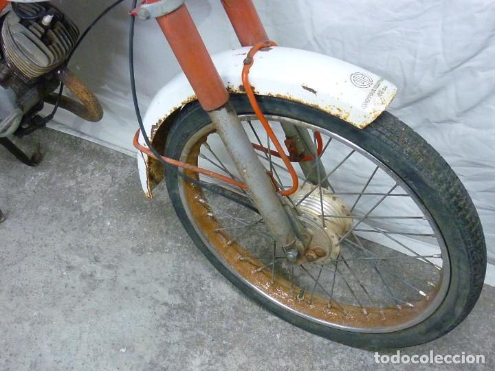 Motos: Moto Guzzi Dingo, Para piezas, o Restauración. Año 1973 - Foto 17 - 268800639