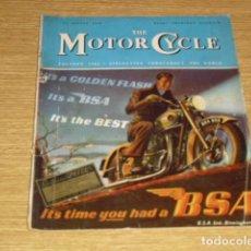 Motos: THE MOTOR CYCLE Nº 471 AGOSTO DE 1959. Lote 272459008