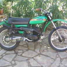 Motos: MOTO OSSA ENDURO PHANTOM 125 1ª SERIE 1975. FUNCIONANDO.. Lote 272573778