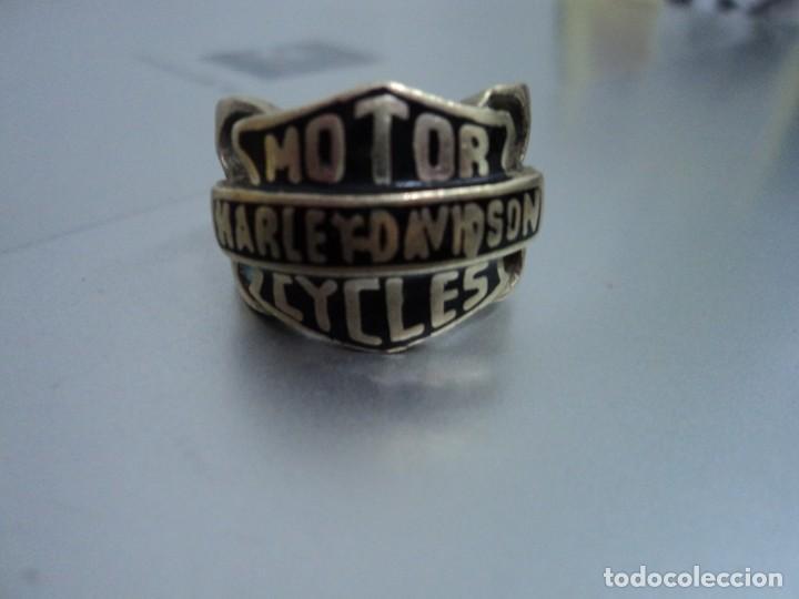 HARLEY DAVIDSON: ANTIGUO ANILLO DE METAL SOLIDO -EXQUISITA PIEZA U.K-NO LO PIERDA!! (Coches y Motocicletas - Motocicletas Clásicas (a partir 1.940))